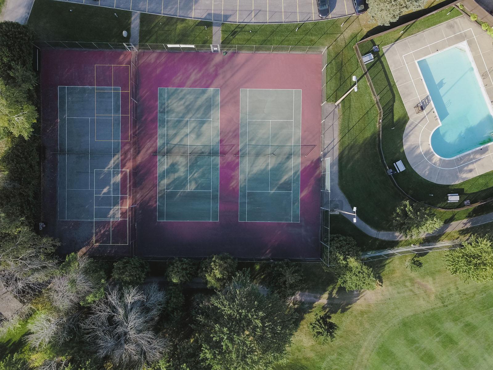 Stittsville Tennis Court